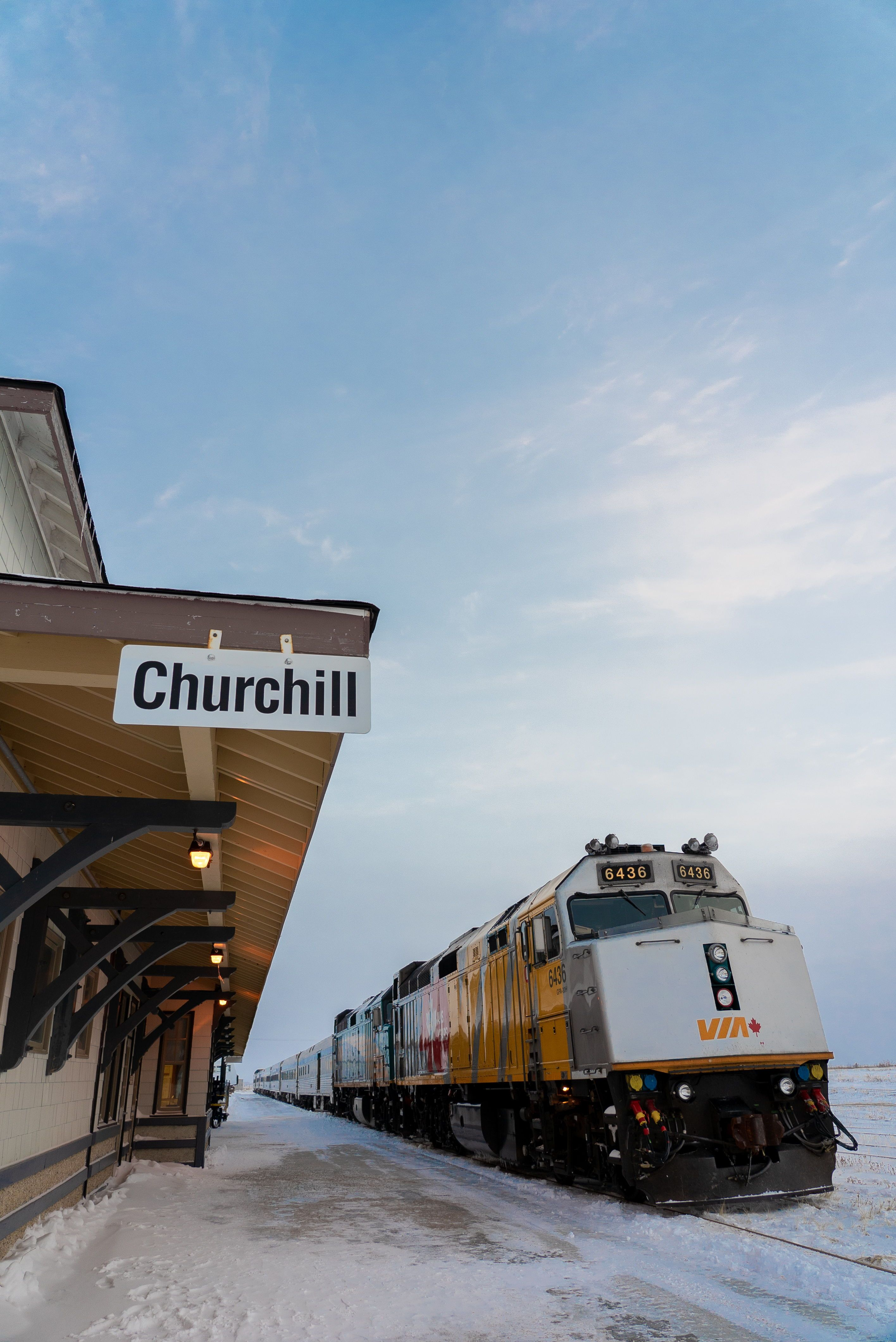 Train to Churchill, Manitoba | Polar Bear Capital of the World