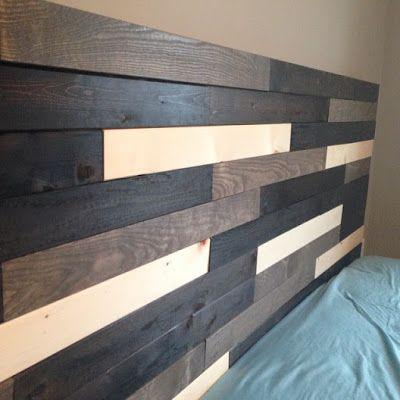 The Homo Hausfrau Diy Headboard Out Of Ikea Bed Slats King