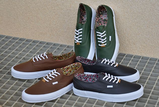 Vans California Era Decon Nappa Leather