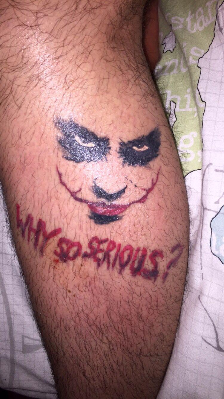 joker tattoo tattoos tattoos clown tattoo tattoo designs. Black Bedroom Furniture Sets. Home Design Ideas