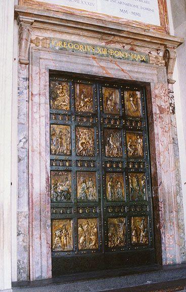 Rome  Italy  Vatican City  St  Peter U0026 39 S  Jubilee Doors