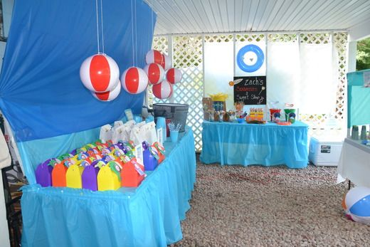 The Beach Birthday Party Ideas With Images Beach Birthday