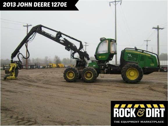 Pin by Rock & Dirt on Featured Equipment   Logging equipment, John