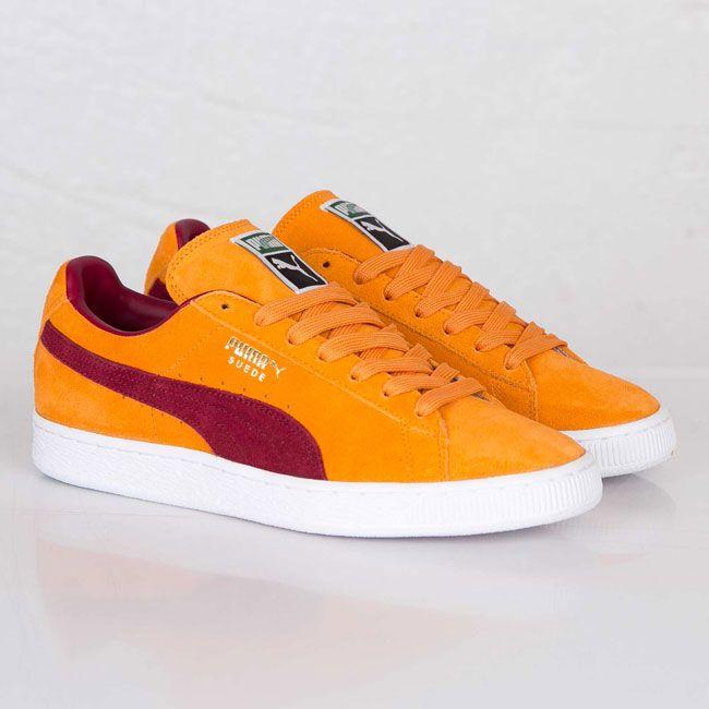 6862274ecf94ba Puma Suede Classic Bright Marigold   Pomegranate