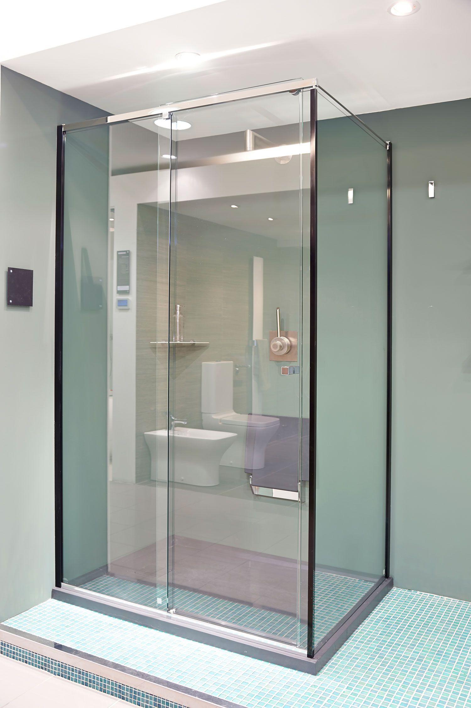 C.P. Hart\'s Cube shower enclosure … | Versatility Of Sliding Barn ...