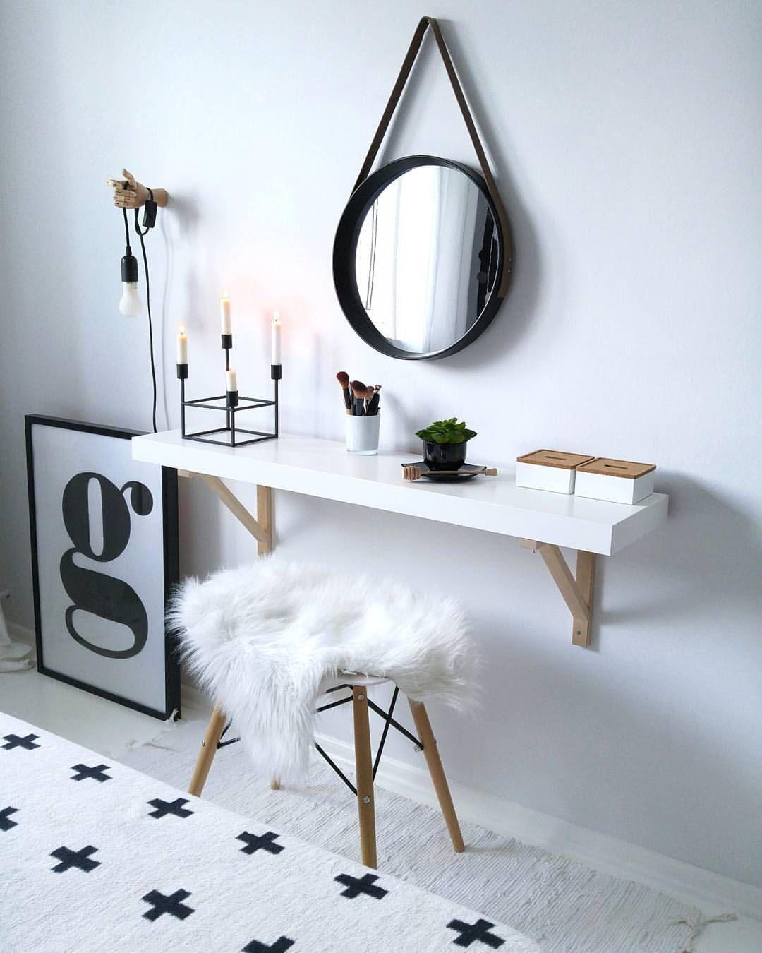 A Small Hanging Mirror House Decor Ideas Bedroom Decor
