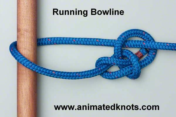 running bowline how to tie the running bowline boating knotsrunning bowline how to tie the running bowline boating knots