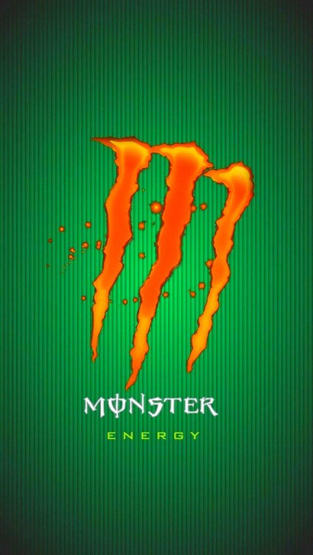 Green And Orange Monster Energy Monster Energy Monster Energy Drink Logo Monster
