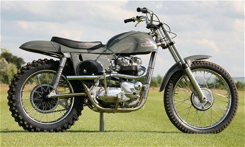 Rickman Metisse Desert Racer Motorcycles Racing From My Past