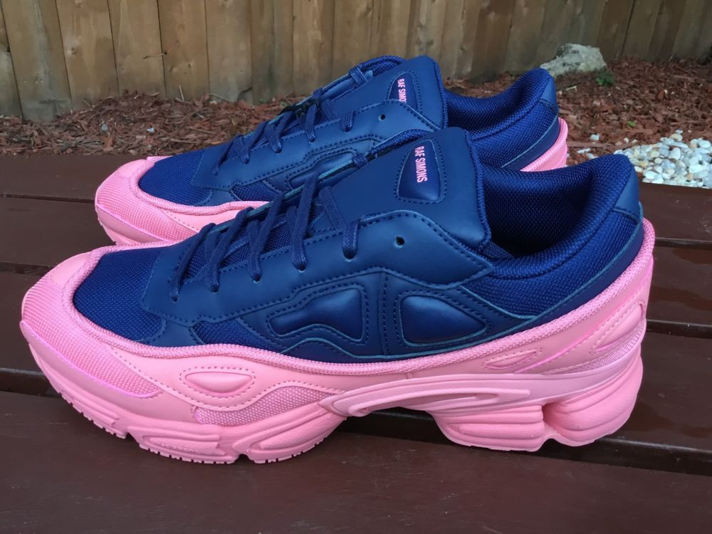 1b710e755fb905 eBay  Sponsored Adidas Raf Simons Ozweego men s shoes sneakers blue pink  F34268 size 11.5