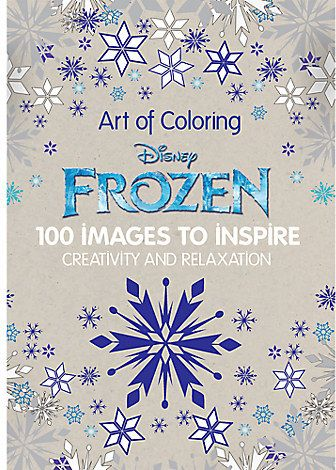 Frozen Art Of Coloring Book