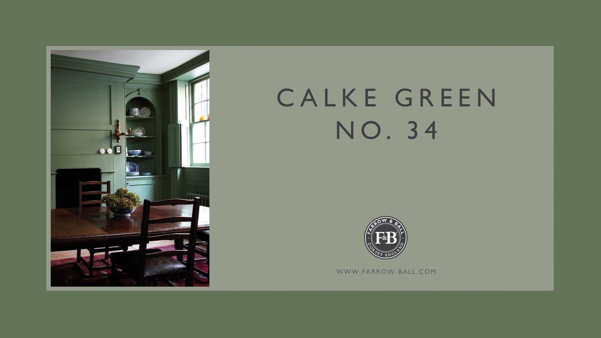 Best Calke Green Farrow Ball Green Color Schemes Georgian 400 x 300