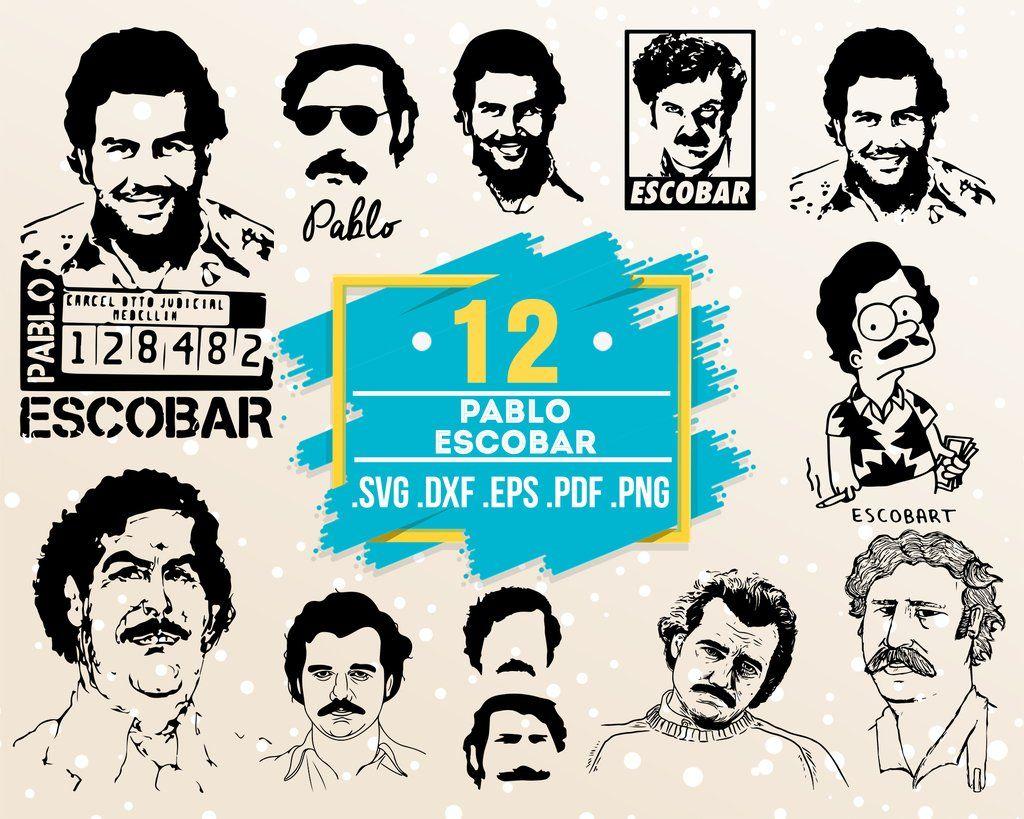 Pablo Escobar Svg Famous People Celebrity Celebrity Silhouette Artist Artist Silhouette Celebrity Svg Celebrity Clipart Famous People Dxf Svg Celebrit Pablo Escobar Escobar Silhouette Artist
