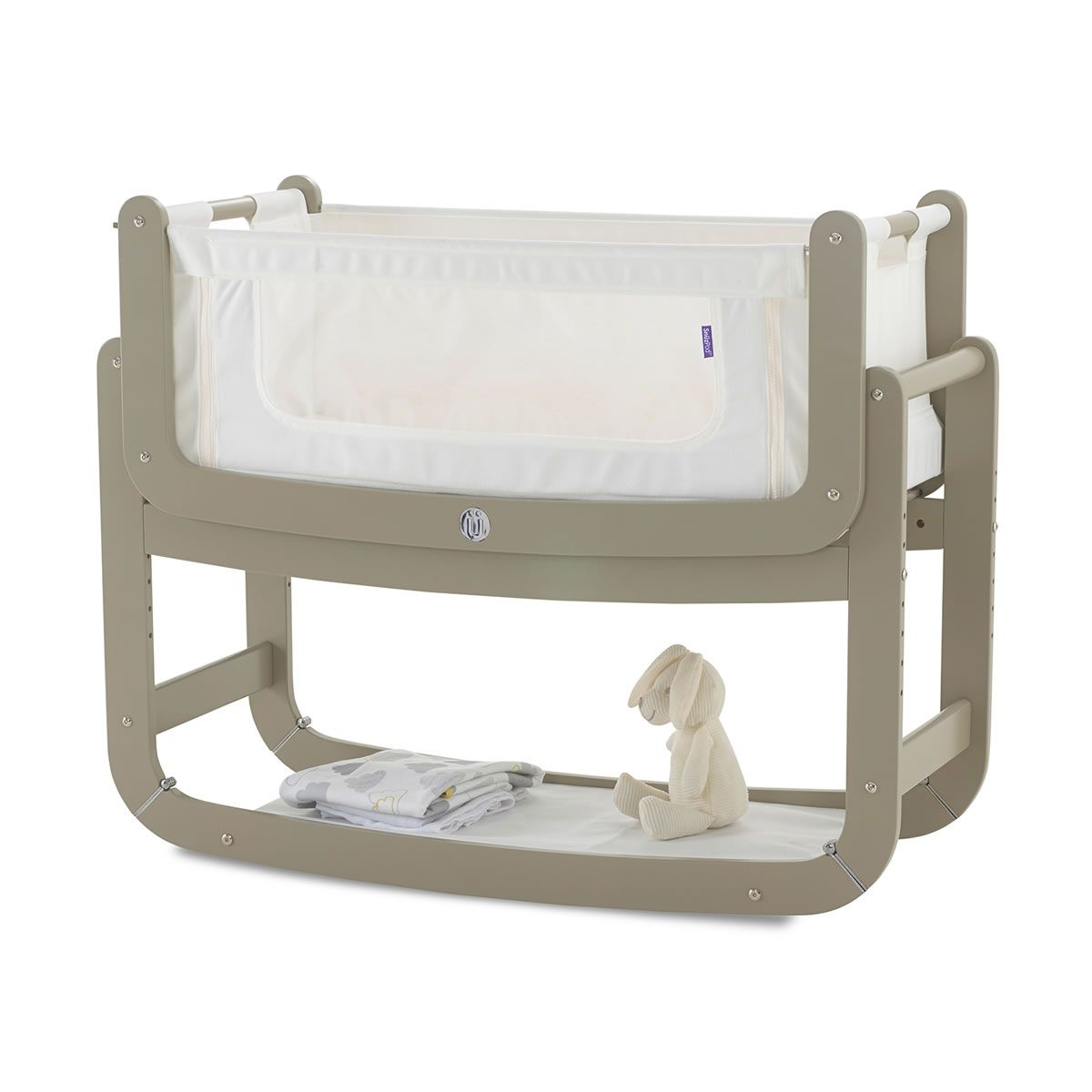 snuz snuzpod2 crib putty with mattress mattress crib and nursery