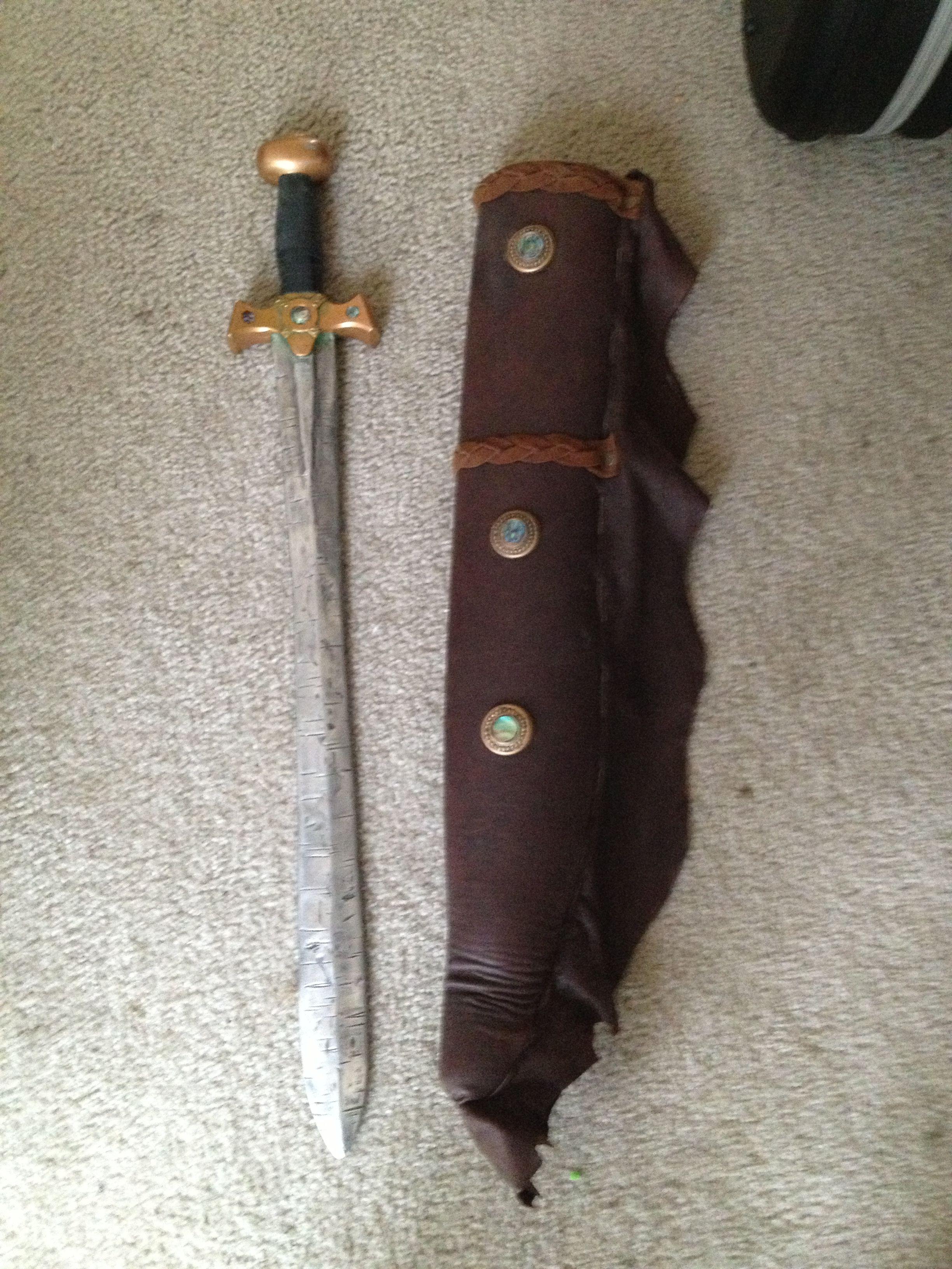 Last decent Xena replica sword and sheath I saw sell on eBay