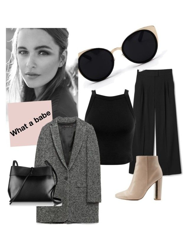 """""""What a babe"""" by casandra7 on Polyvore featuring Charlotte Russe, Miss Selfridge, Una-Home, Zara and Kara"""