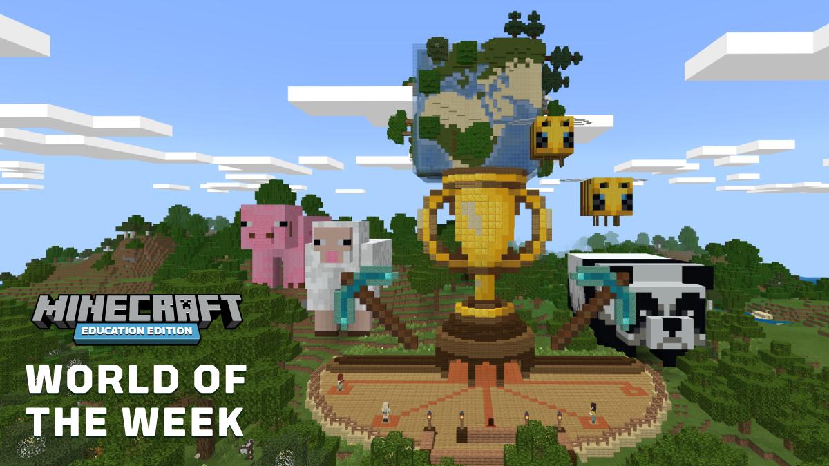 Championship World Minecraft Activities Biomes Education
