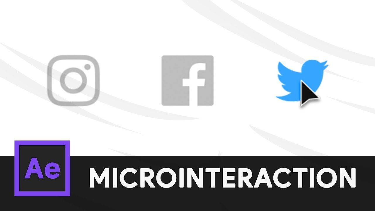 Social Media Share Icon After Effects Microinteraction 06