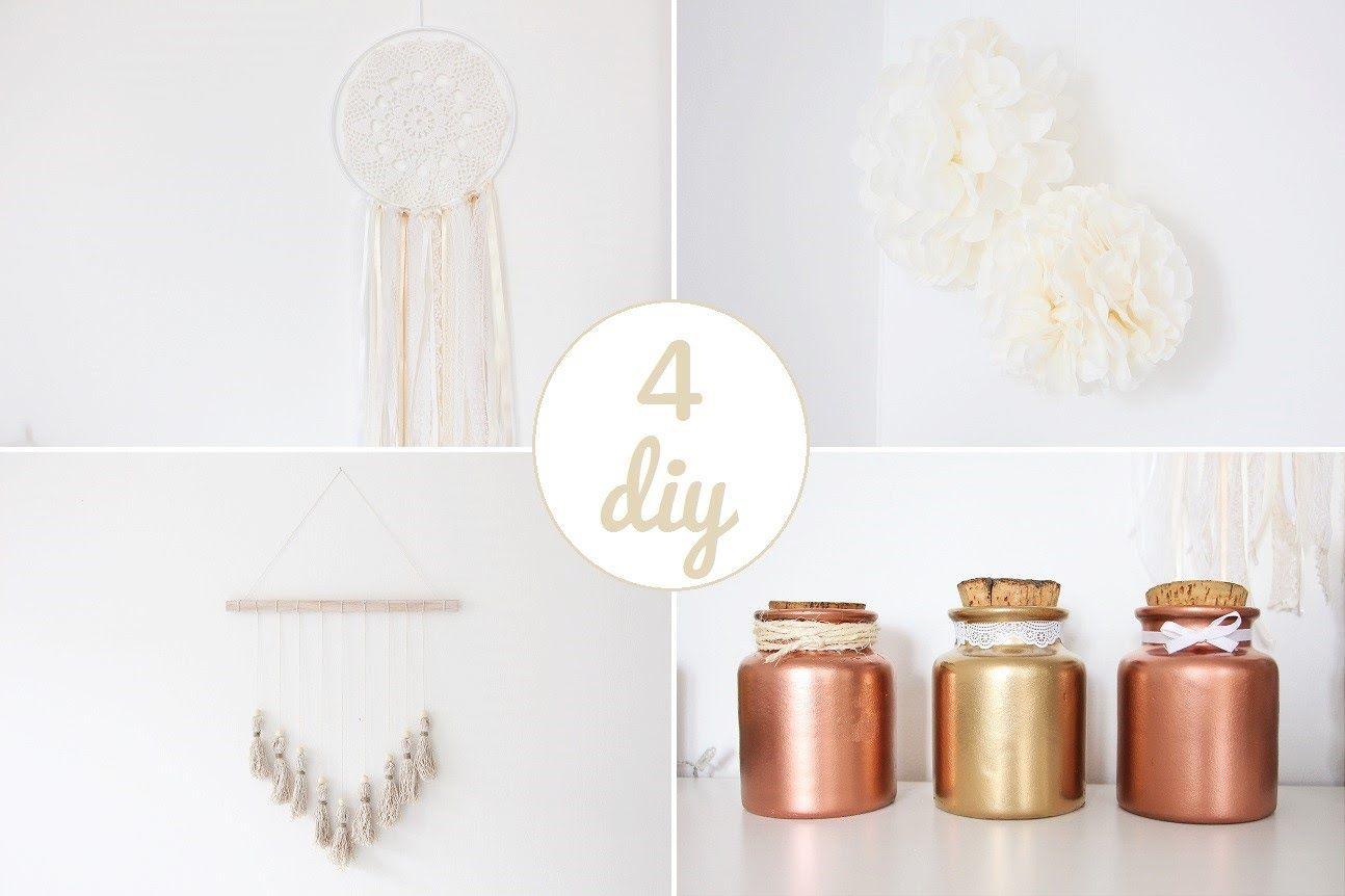 Voici 4 DIY pour fabriquer de jolies pièces de déco pour la maison ! Si vous  les reproduisez, n hésitez pas à m identifier sur votre photo avec le 126d9616e16