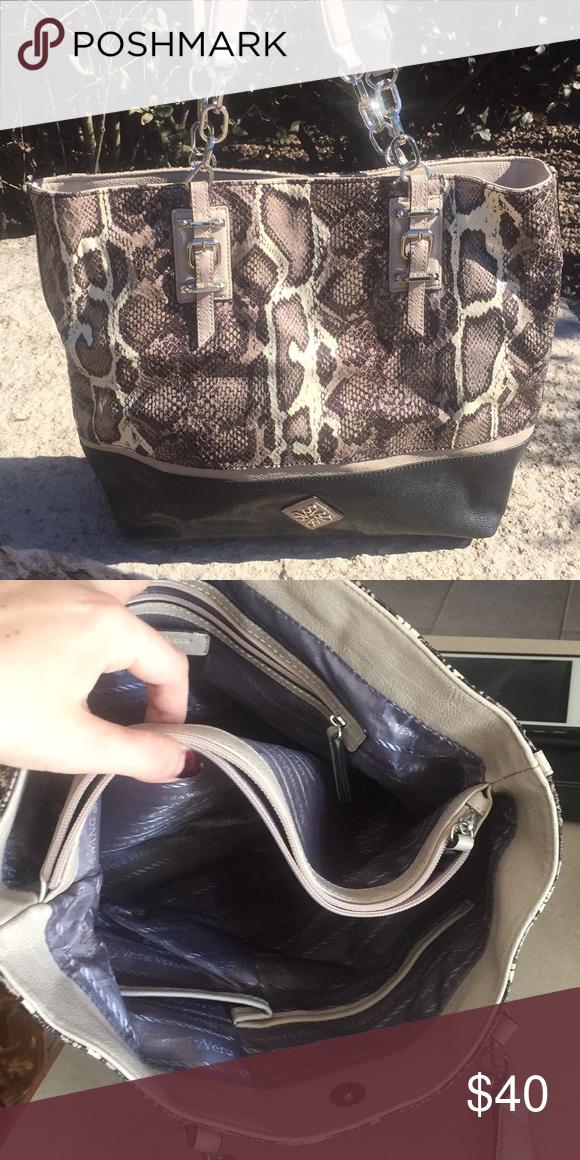 Large Shoulder Bags Faux Snakeskin