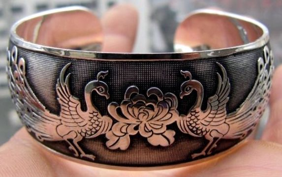 Details about  /Tibetan 925 Silver /& Leather Bracelet