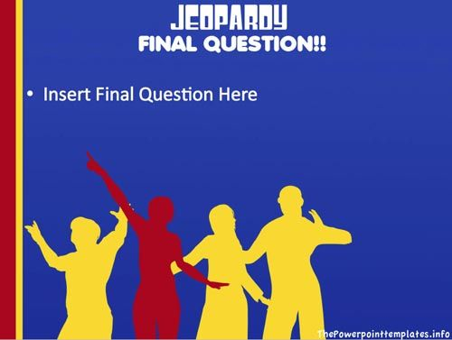 Jeopardy Powerpoint Games Jeopardy Template Powerpoint  Classroom