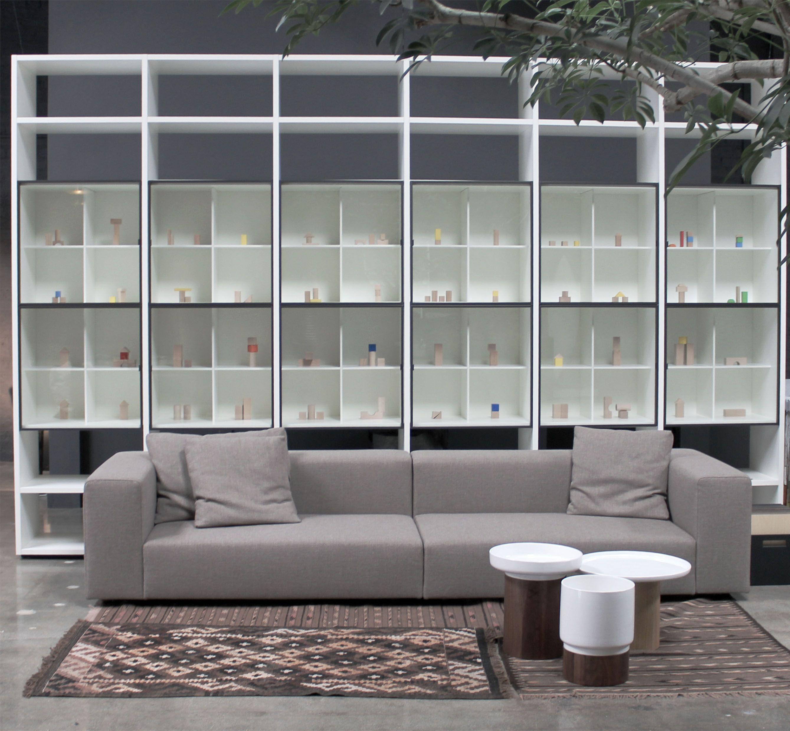 Living Divani The Wall Sofa Wall Sofa By Living Divani System By Porro Apu Tables By Zeitraum