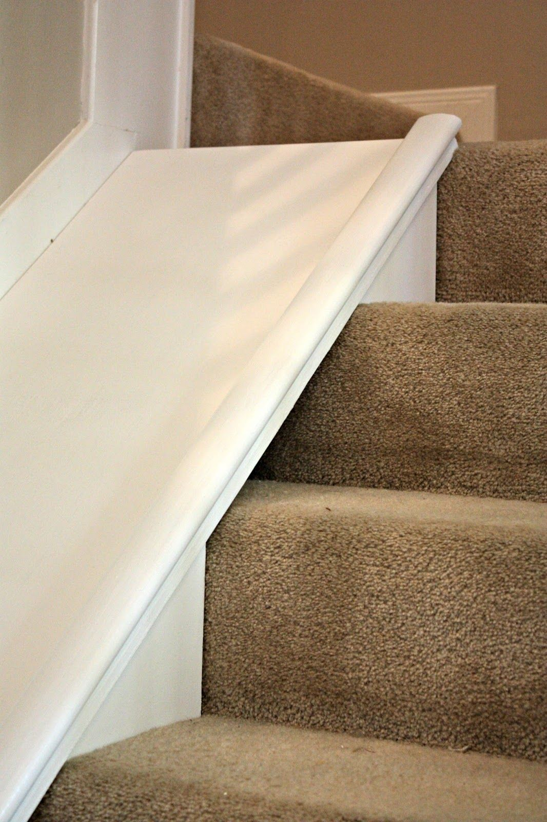 Diy Stair Slide Or How To Add A Slide To Your Stairs