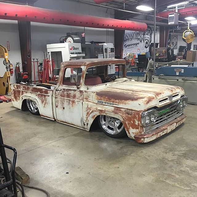 Build A Truck Ford: Yeah That @gasmonkeygarage Ford F100 Build Is