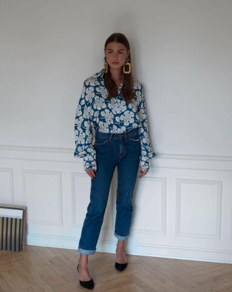 84e4830a48e Sophia Roe wearing Mih jeans
