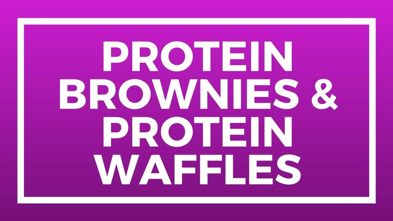 طريقة عمل كيك البروتين وجبة بروتين عالى Protein Brownies Bodybuilding Protein Waffles Nosteroids Protein Brownies Protein Waffles Waffles