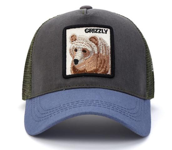 Unisex I Love My Dog Baseball HatsOutdoor Adjustable Mesh Hat Caps