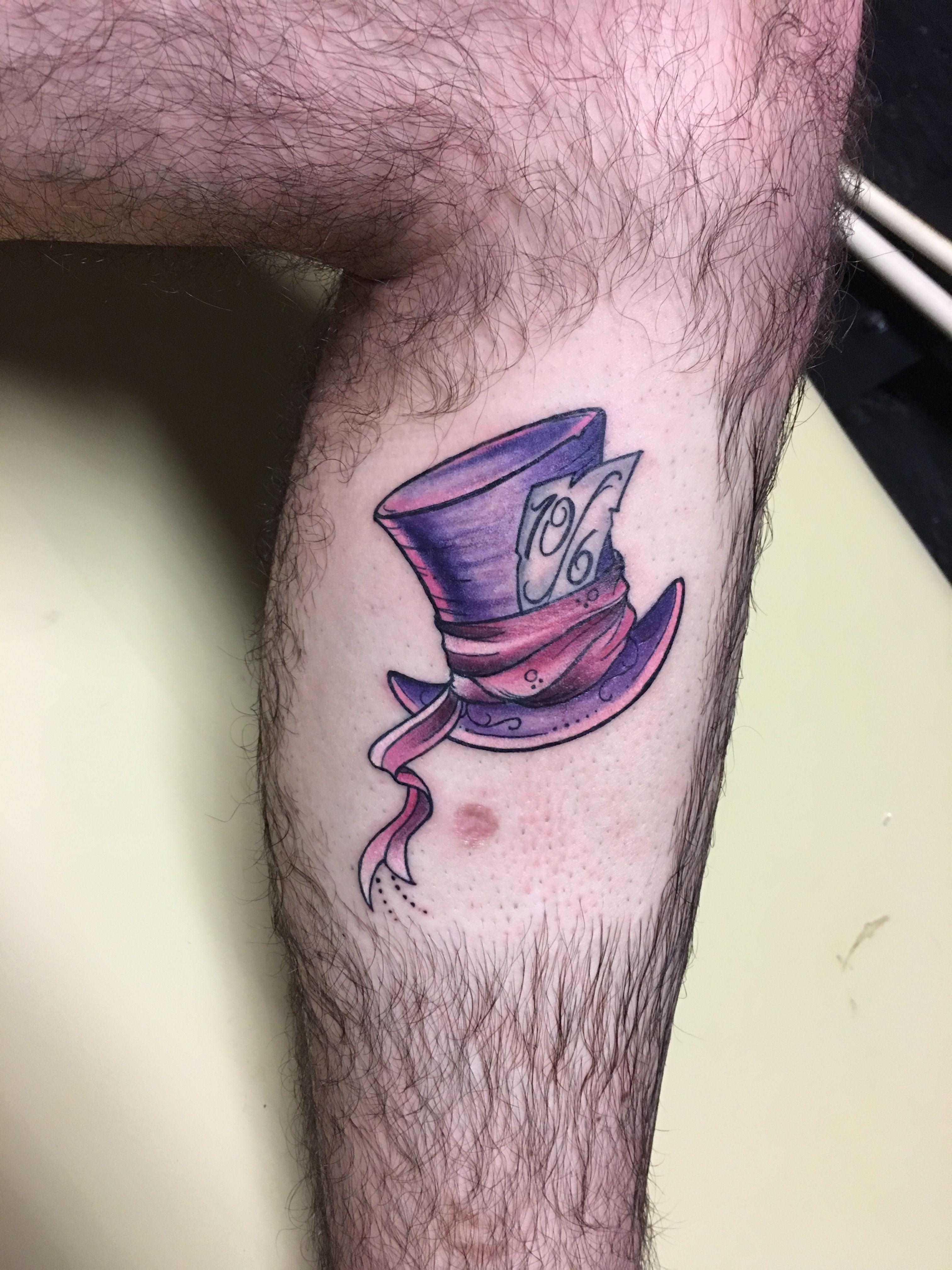 Mad hatter tattoo by Rio Vandivier Daytona Beach Fl Alice in ...