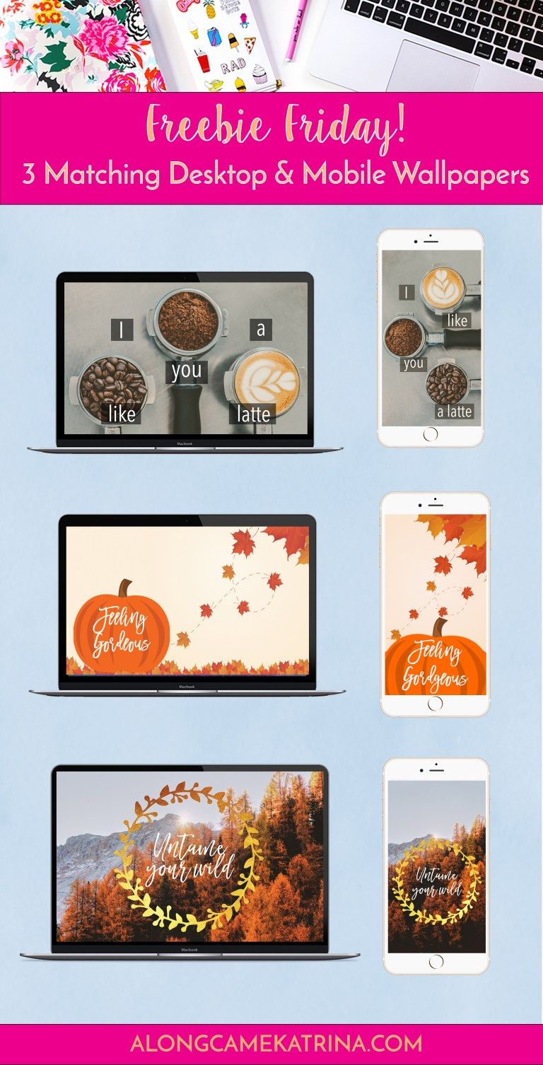 Freebie Friday: January Wallpapers -
