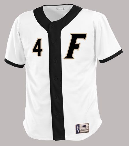 Is your mascot so cool that it's just a single letter?  F Baseball's is and they show it off proudly on these custom jerseys ordered through Grayson Sporting Goods. http://www.garbathletics.com/blog/f-baseball-custom-jersey/ Think you have a cooler mascot?  Put it on a jersey at www.garbathletics.com!