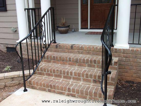 Wrought Iron Porch Railings Wilmington Nc Custom Wrought Iron | Custom Handrails Near Me | Wood | Balcony | Deck Railing | Powder Coating | Steel