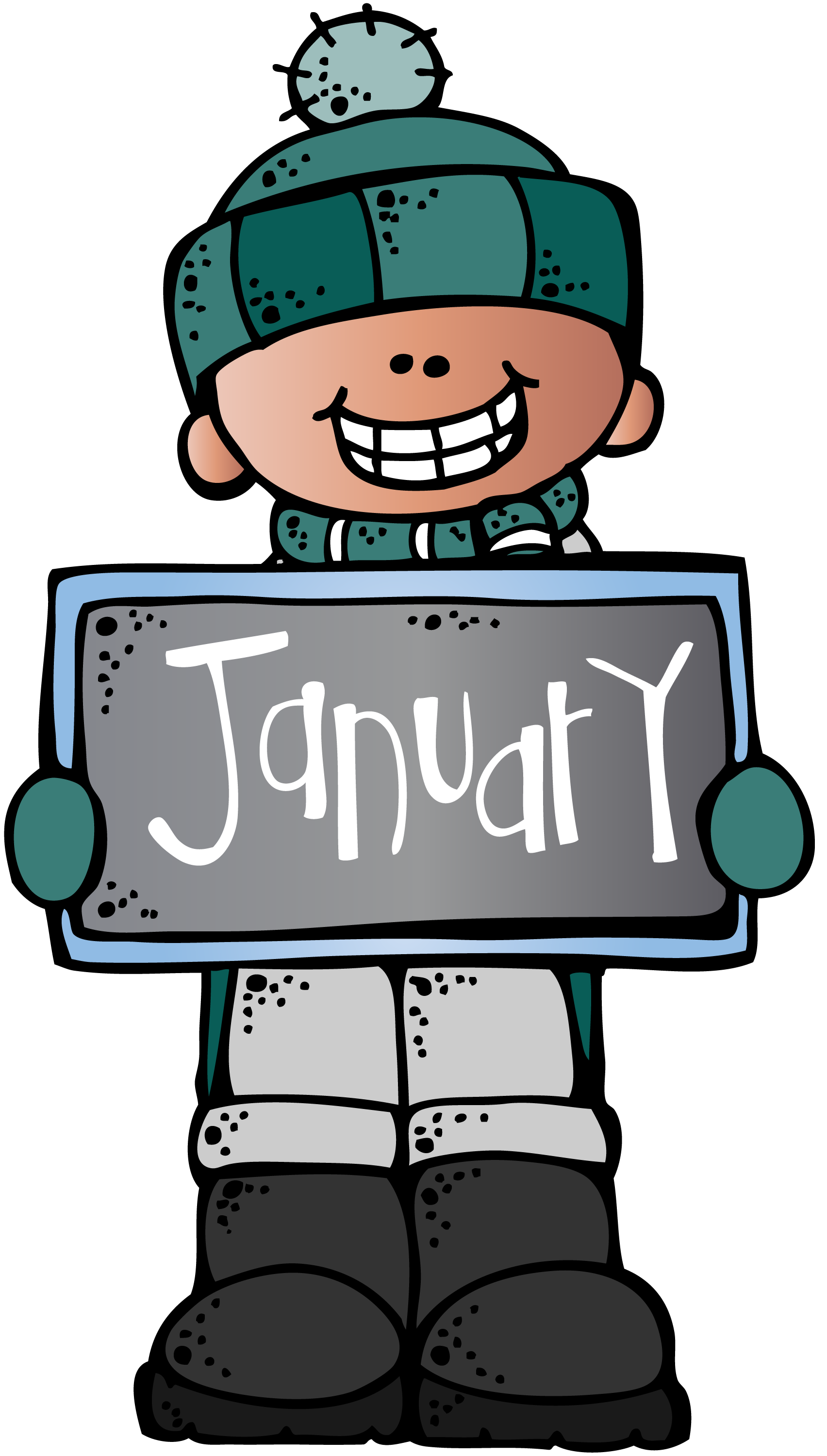 Image result for january clip art melonheadz