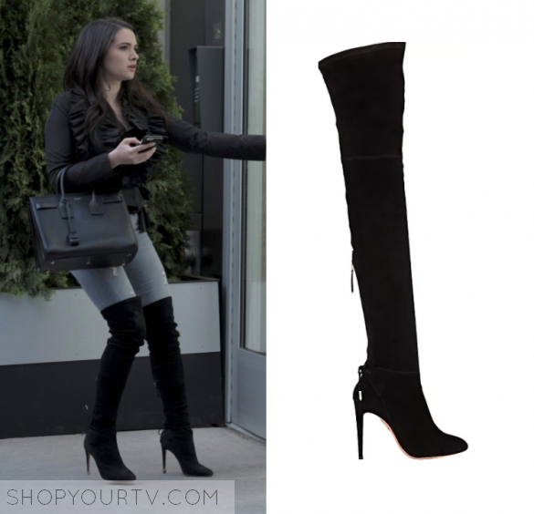671b8f4960c The Bold Type: Season 1 Episode 6 Jane's Knee High Boots | Shop Your ...
