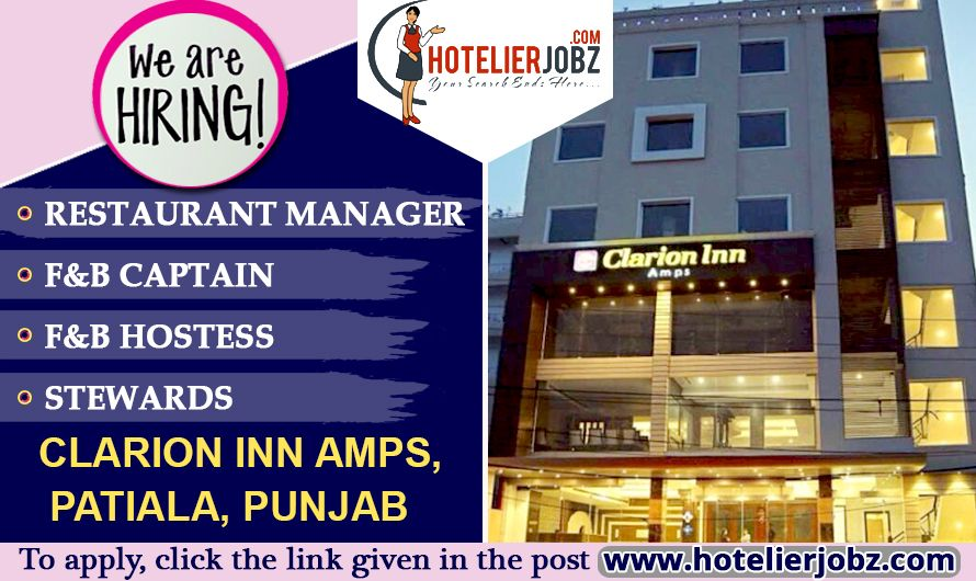 Now opens vacancies for restaurant manager fb captain