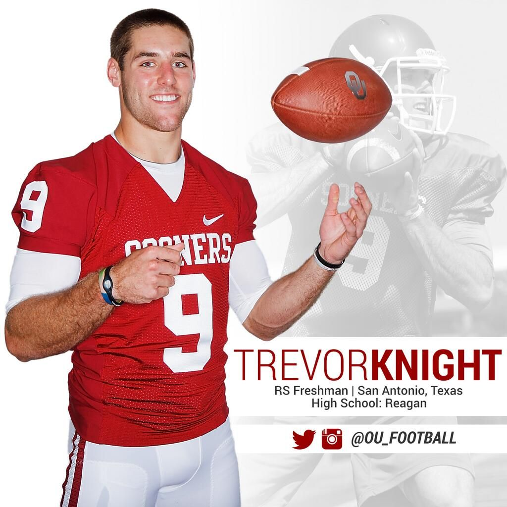 Official trevor knight is the starting