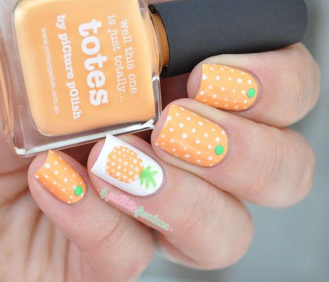 nailstorming summer fruits pineapple nails - Nailstorming #117 // Fruits D'été Pineapple Nails, Nail Nail And
