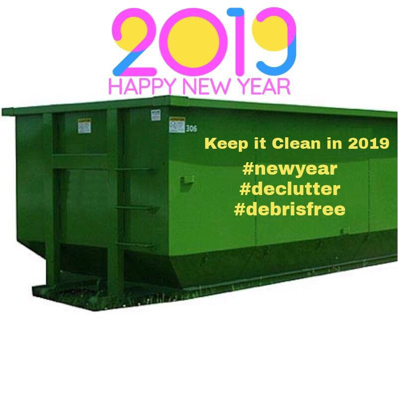 Rent A Roll Off Dumpster From Express For The New Year Roll Off Dumpster Dumpster Rental Keep It Cleaner