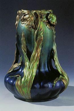Zsolnay Vase Hungary Zsolnay Secession Secessio Art Arhitecture Finearts Appliedarts Magyar Http Www Pinterest C Art Nouveau Art Art Nouveau Design