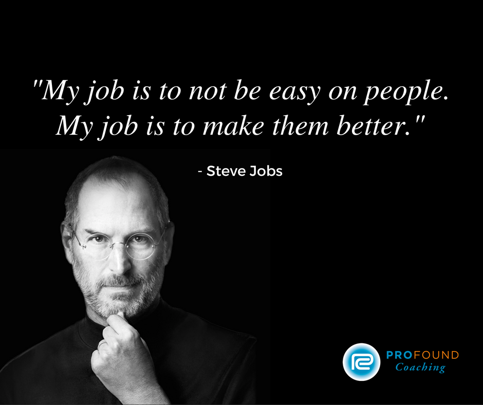 #stevejobs #quote #leadershipdevelopment #profoundcoaching