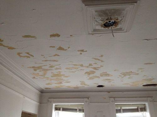 Repairing Cracked Plaster Ceilings Diy Pinterest Plaster Ceiling And Drywall