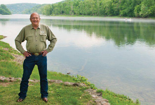 Jim Gaston, owner of Gaston's White River Resort