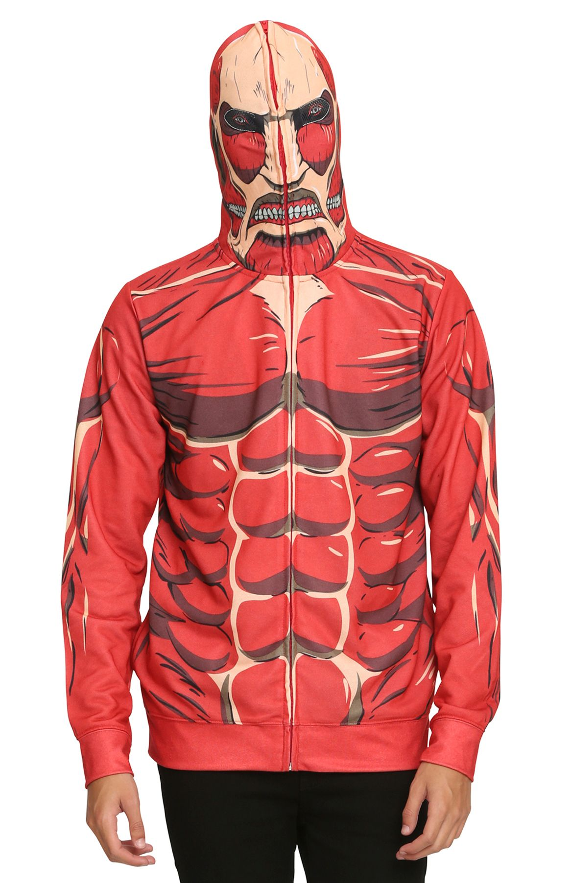 Scaring Nearby Humans Has Never Been So Easy With The Full Zip