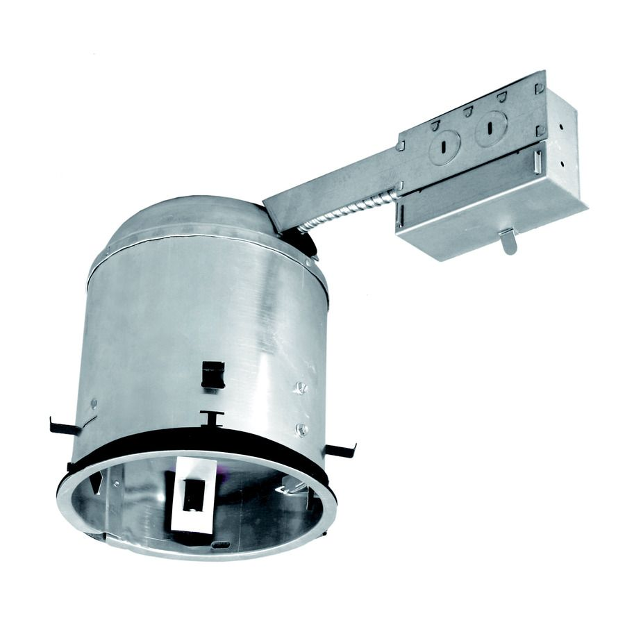 utilitech remodel airtight ic recessed light housing common 6 in