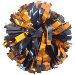 Pom Poms Metallic X Lrg Navy Orange Auburn University Bookstore Auburn University War Eagle Auburn