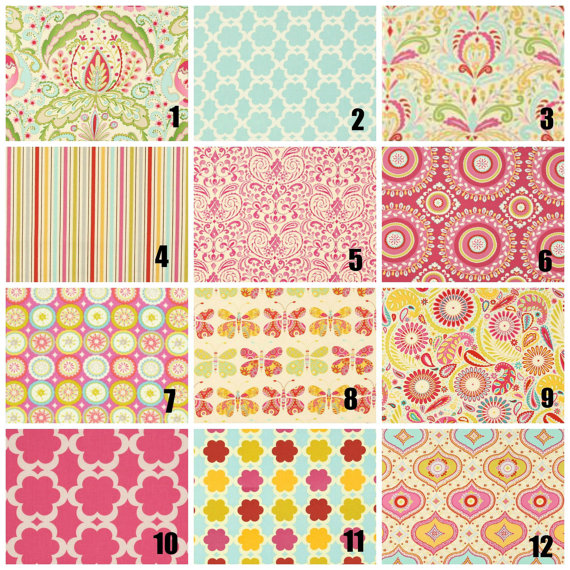Kumari Garden Fabric Swatch Kit   Cotton And Minky Fabric Swatches   FREE  SHIPPING   We Will Refund Price If You Order
